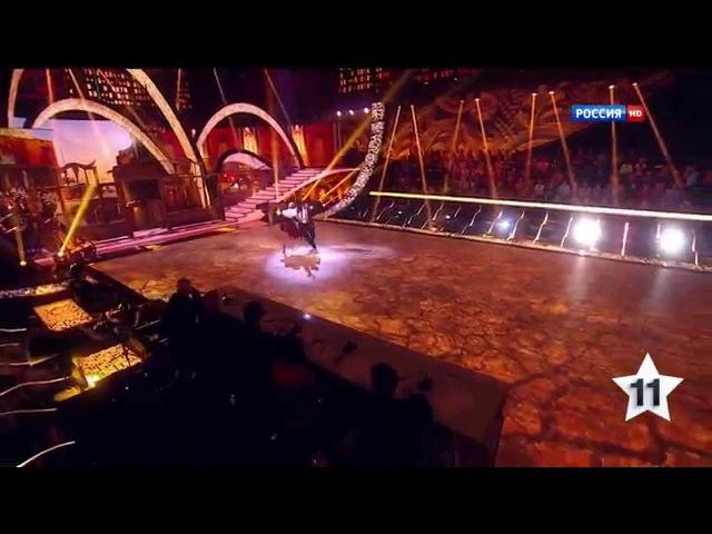 Танцы со звёздами (14.02.2015). Ирина Пегова и Андрей Козловский. Ча-ча-ча.