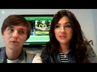 Онлайн-зустріч із героями шоу «Серця трьох – 2» Кариною і Сашею. 28 квітня, 16:00