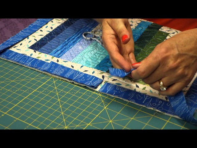 The Quilt Show Tutorial Julie Cefalus Tips, Tricks, Techniques - Binding Tips 2