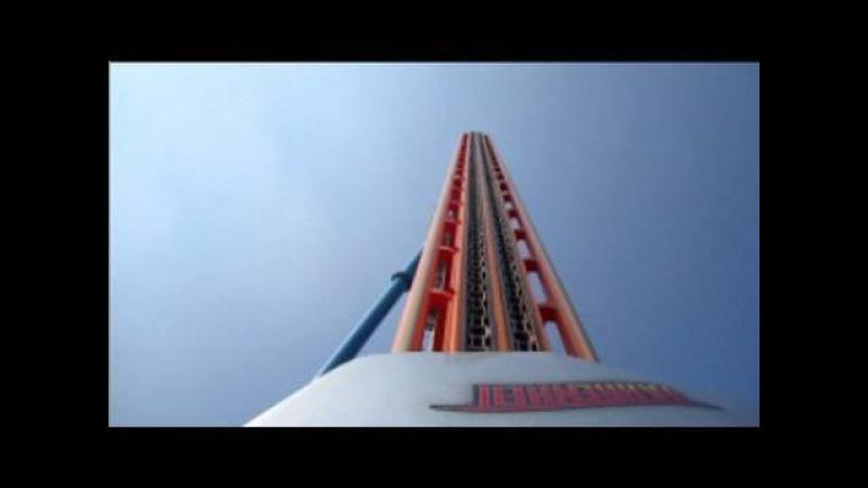 Fahrenheit Front Seat on-ride HD POV Hersheypark
