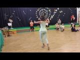 Roxana Suarez - Women's technique, argentine tango lesson (2014 Riga Tango Fiesta, LV)