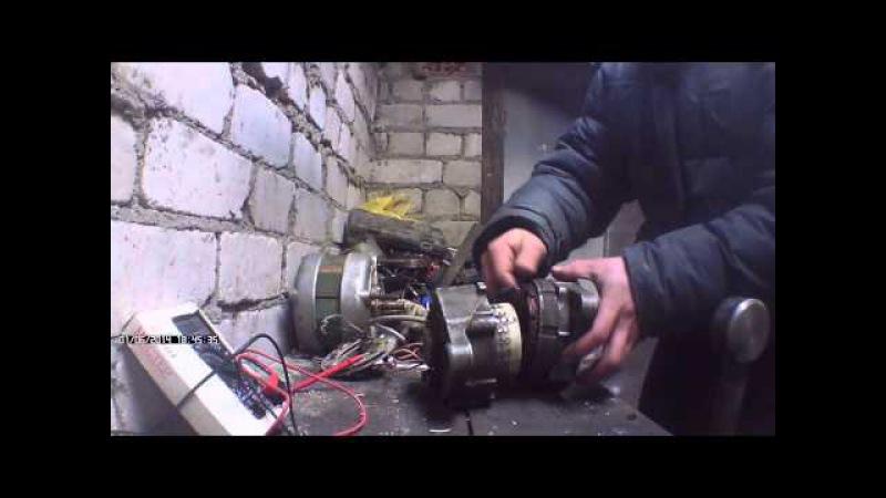 Как сделать электрогенератор своими руками видео
