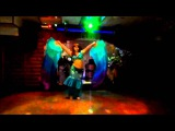 bellydance with fan veils танец живота с веерами-вейлами