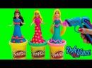 Play Doh Sparkle Ariel Undersea Castle Magiclip Disney Frozen Barbie Car Build Style Playset Dolls