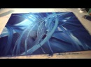 Abstrakte Malerei Full HD Sony Alpha 6000, Abstract Art Painting Demonstration, Acrylmalerei