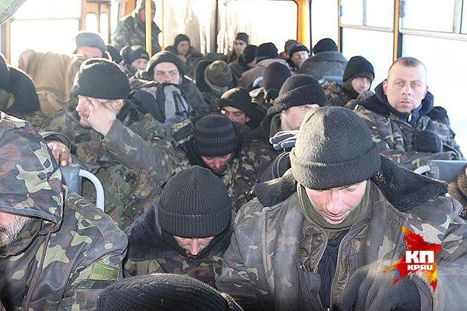 Украинские солдаты под Дебальцево начали массово сдаваться в плен