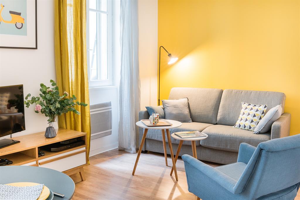 Аккуратная квартира-студия 25 м в Париже.