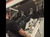 Эдуардо Корреа. Тренировка ног за 3 недели до Олимпии (канал GoB)