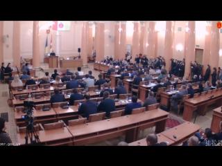 Выборы: В Одессе новый мэр присягнул горожанам и уже работает Саакашвили озверел и вызвал Труханова на ринг. 28.10.2015.
