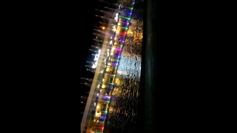 Музыкальный фонтан в Аркадии Одесса