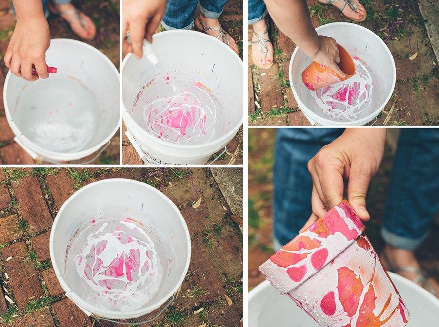 Как сделать горшок для цветов своим руками