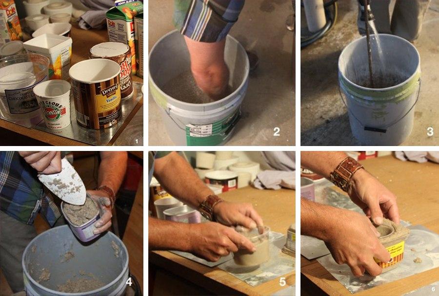 Как сделать горшок для цветов своими руками фото из чего сделать 97