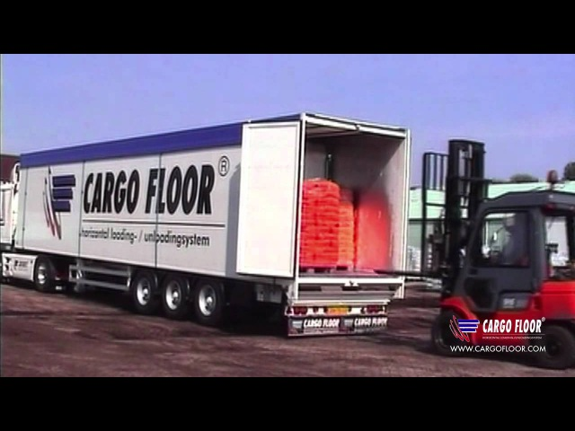 Cargo Floor Loading and Unloading System Mobile - Pallets II