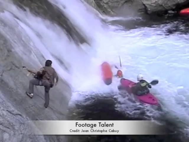 Kayaker Caught in Hydraulic Whirlpool (Original Video)