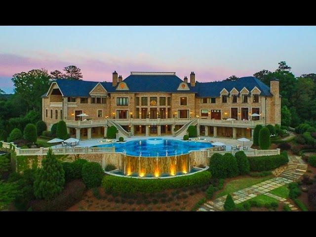 Atlantas Most Amazing 25 Million Dollar Estate - 4110 Paces Ferry Rd