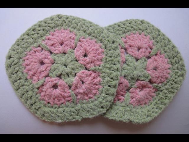 Африканский пятиугольный цветок Вязание крючком Afghan Crochet flower pentagonal
