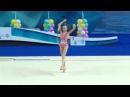 Полина Шматко обруч Юные гимнастки 2015