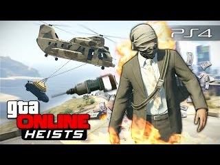 GTA 5 Online Heists - Грабеж банка! 108