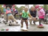 Беговел Россия. Awesome balance bike kids racing. Детские гонки на беговелах!