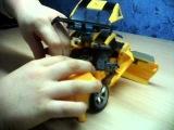 Обзор на игрушку трансформеры бамблби