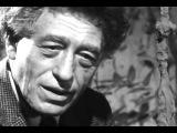 Человек среди людей. Альберто Джакометти.Alberto Giacometti, un homme parmi les hommes 1963