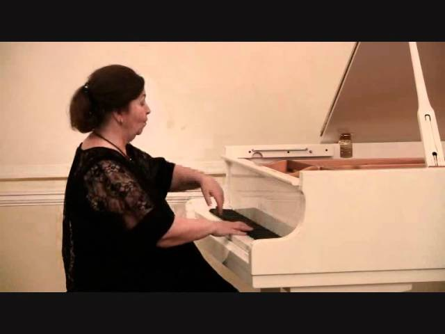 Татьяна Лупикина. Моцарт. Соната №11, A Dur, К 331. 28.10.11