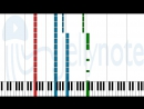 ноты Sheet Music - A Crawling Worm In A World Of Lies - Thy Light