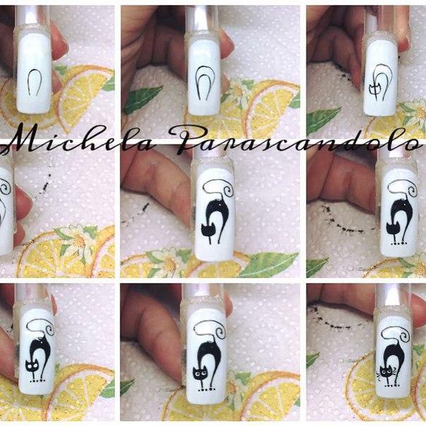 Дизайн ногтей гель лаком пошаговое фото