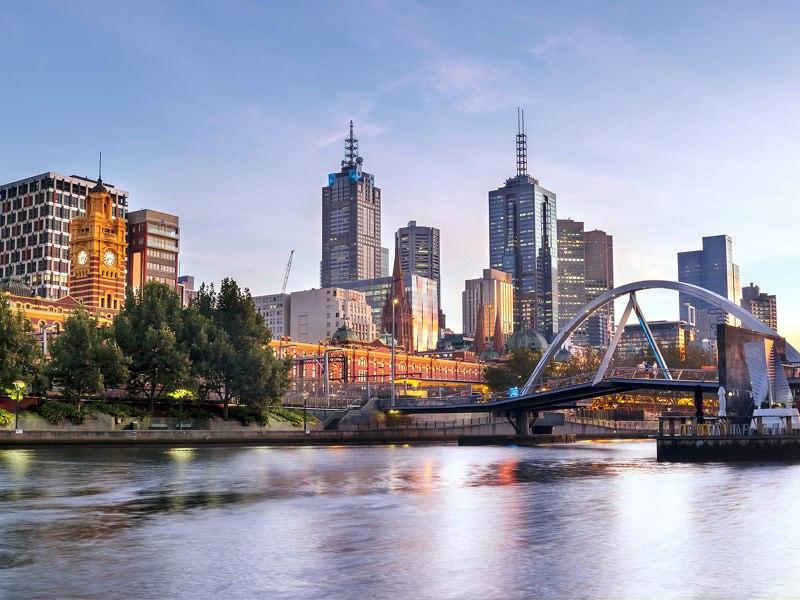 Магазины и рестораны в Мельбурне