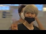 [FANCAM] 150829 EXO Baekhyun @ Gimpo - Haneda Airport