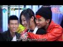 G-dragon give a back hug to Minzy♥