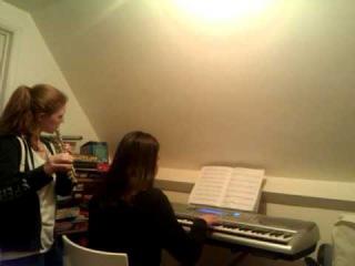 Anna and Anna and Charlie are playing Adele !