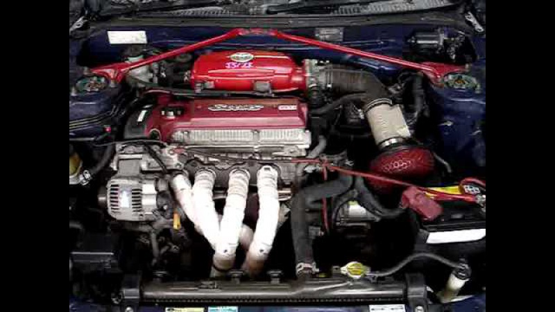 3SGE S54 LSD 5Spd Red Top Beams VVTI ST202 BLMZF 84 845kms Stock JS173 Engine