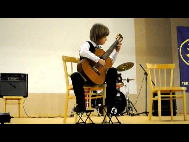 Виртуозы гитары Фантазия.S.L.Weiss. Артём Колесников.