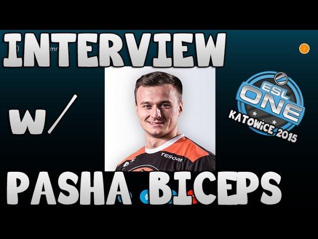Great Interview w/ @PaszaBiceps | ESL One Katowice 2015