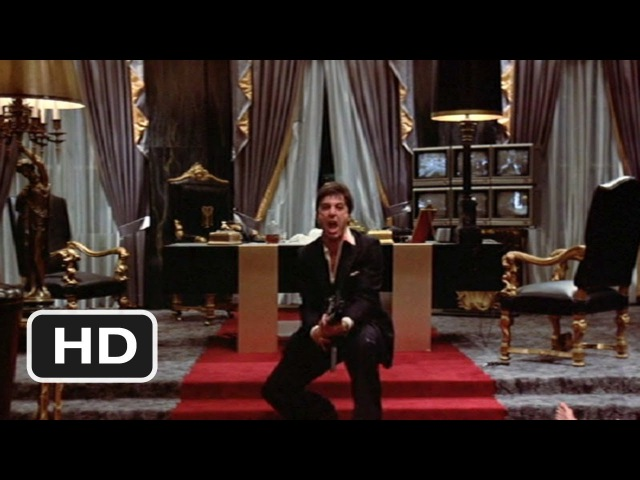 Scarface (1983) - Say Hello to My Little Friend Scene (88) | Movieclips