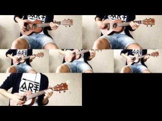 Николай Николаевич. Город Санкт- Петербург. *Papa Roach – Last Resort (ukulele lounge cover)* КУК2014