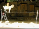 Невероятный цирковой трюк с козой Коза эквилибрист AWESOME Circus trick