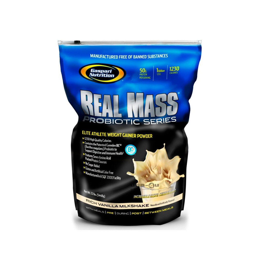 Gaspari nutrition Real Mass 5.5кг