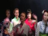 Хинодэ.1-й день.Танец со зрителями