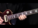 Gary Moore inspired fast pentatonic blues lick lesson