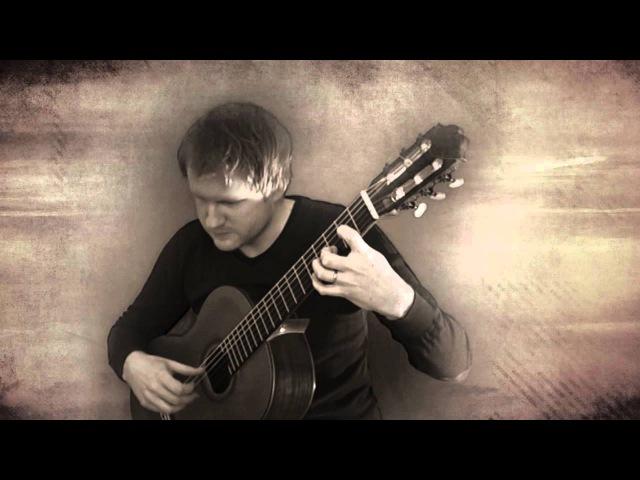 Yann Tiersen - Comptine dUn Autre Été (Classical Guitar Cover by Jonas Lefvert)