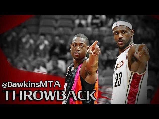 LeBron James vs Dwyane Wade NASTY Duel 2006.03.12 - UNREAL 82 Pts Combined!