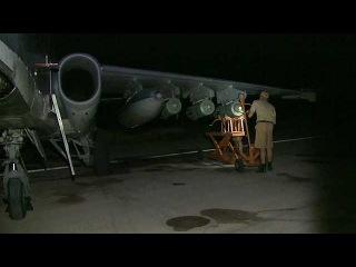 Российская военная авиация в Сирии продолжает уничтожать важные для террористов объекты - Первый канал