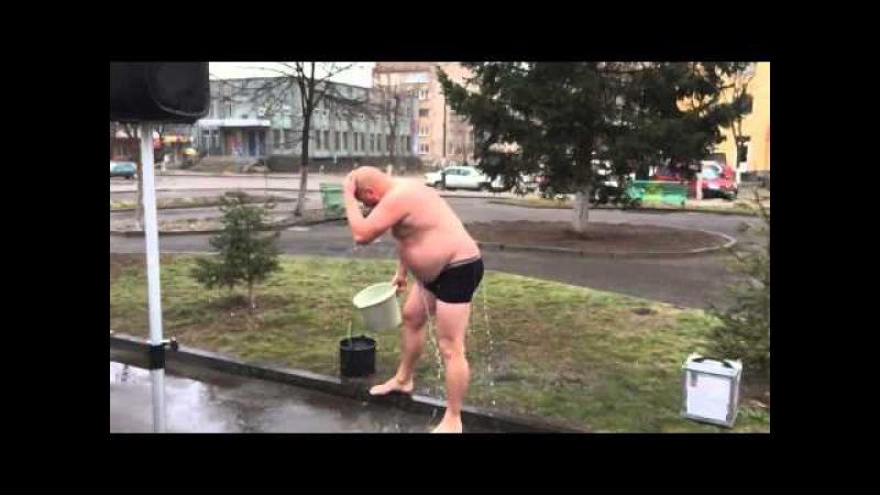 Флеш-моб Зігрій солдата. м.Костопіль, 25.01.2015р