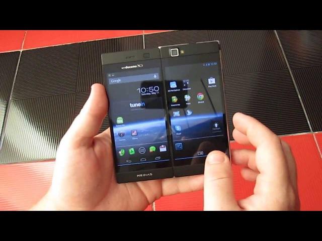 1 NEC Casio Docomo N-05E MEDIAS W tested by J-Phone.ru 1
