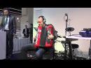 Roland FR-8X digital accordion presentation @ Musikmesse 2013