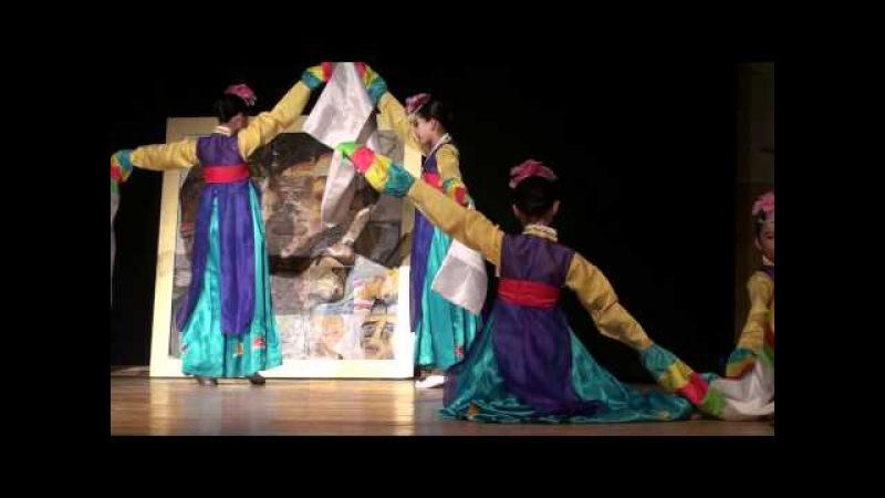 [Korean Traditional Dance] Flower Crown Dance by Children's Dance of Hanmaum Seon Won