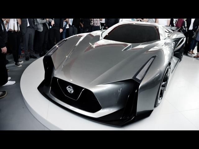 Nissan Concept 2020 Vision GranTurismo - Global Unveiling