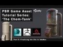 PBR Game Asset Creation Part 5 - Finalising the UVs in 3dsMax